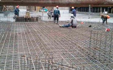 Заливка бетонной плиты <br></noscript><img class=